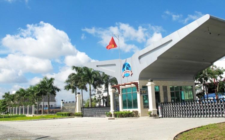 Cổng chào (Tập đoàn Thép Nguyễn Minh)